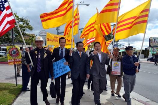 Quận Cam yêu cầu thông báo trước 10 ngày cho các chuyến thăm của giới chức Việt Nam